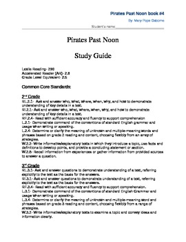 Pirates Past Noon Study Guide