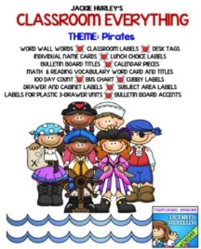 Pirates, Pirates, Pirates, Beginning of School Everything!