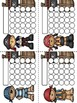 Pirates Sticker Incentive Charts - Full Color and Less-Ink