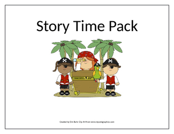 Pirates Story Time Printables