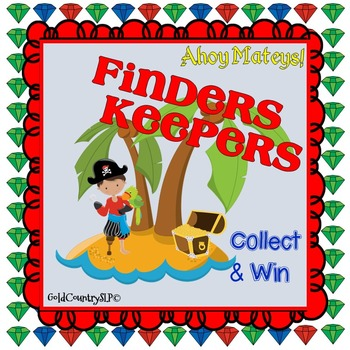 Pirate's Treasure (Finders Keepers) Game