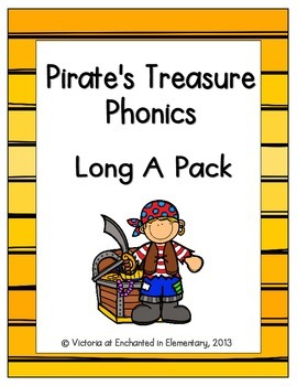 Pirate's Treasure Phonics: Long A Pack
