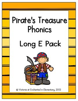 Pirate's Treasure Phonics: Long E Pack