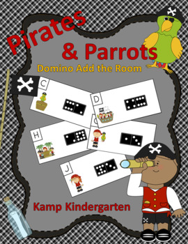 Pirates and Parrots Domino Add the Room (Sums of 0 to 10)