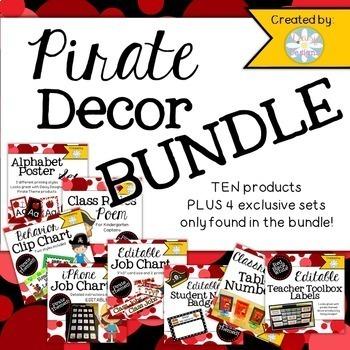 Decor BUNDLE - Pirate Themed