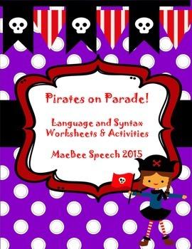 Pirates on Parade! Building compound sentences, conjunctio