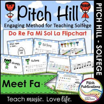 Pitch Hill: Introduce Fa {FLIPCHART} - Practice Do, Re, Mi