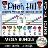 Pitch Hill: {GROWING MEGA BUNDLE} - Teaching Solfege throu