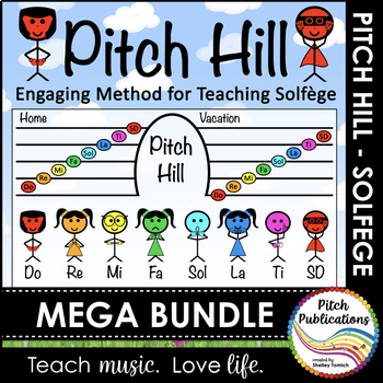 Pitch Hill: {GROWING MEGA BUNDLE} - Teaching Solfege throu