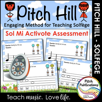 Pitch Hill: Activote Add-On Sol Mi {FLIPCHART}