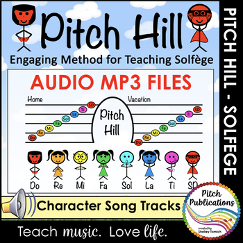 Pitch Hill: Teaching Solfege Method  CHARACTER BACKGROUND