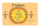 Pizza Fraction Display Posters