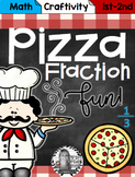 Pizza Fraction Fun Craftivity