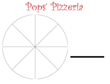 Pizza Fractions Restaurant Bundle