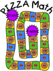 Pizza Math Addition Subtraction Board Game