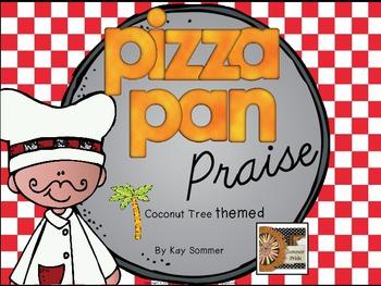 Classroom Management - Pizza Pan Praise {coconut tree}