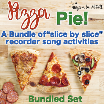 """Pizza Pie, a Bundled Set of """"Slice by Slice""""  Recorder Act"""