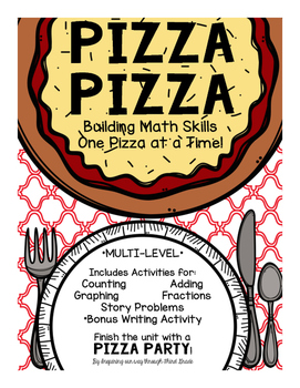 Pizza Pizza: Multi-Level Math Stations