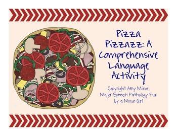 Speech Therapy: Pizza Pizzazz