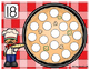 Math Mats, Play-doh pizza number mats