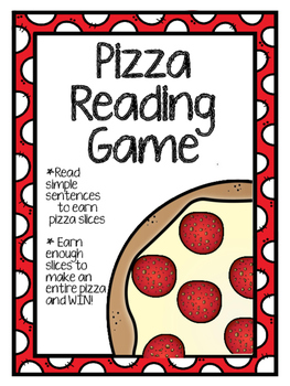 Pizza Reading Game (Simple Sentences)