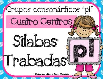 Pl Centro de Silabas Trabadas Grupos Consonanticos Station