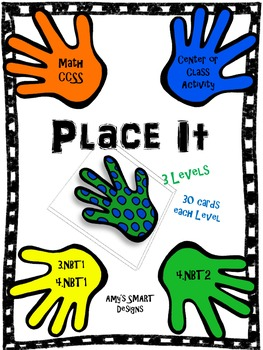 Place It: CCSS Place Value  Math Center