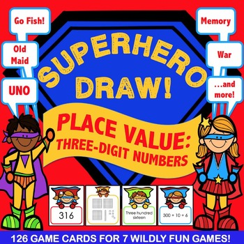 2nd Grade Place Value Game: Hundreds, Tens, Ones