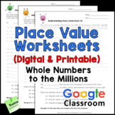Place Value Printables