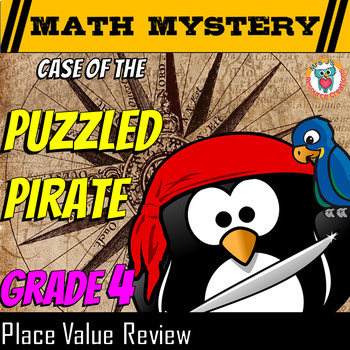 Place Value Math Mystery {Larger Numbers}: Comparing, Conv