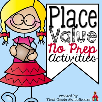 Place Value No Prep Activities