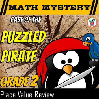Place Value Math Mystery Activity: Values, Comparing, Orde