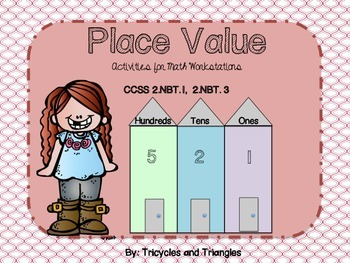 Place Value- Activities for Math Workstations (aligned with CCSS)