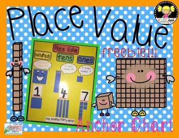 Place Value Anchor Chart {Freebie}