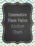 Place Value Anchor Chart (Interactive!)