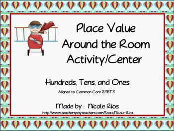 Place Value Around the Room Activity/Center