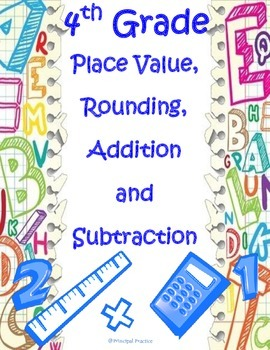 4th Grade Place Value Assessment