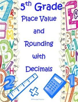 5th Grade Decimals Assessment