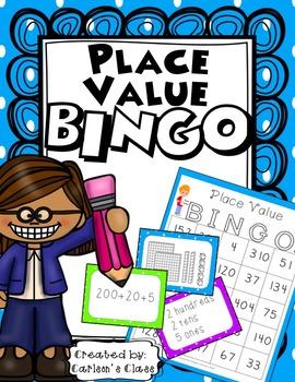 Place Value BINGO (w/ Base 10, Place Value & Expanded Form