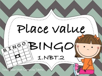 Place Value BINGO Game!  1.NBT.2