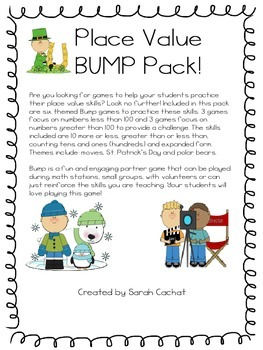 Place Value BUMP Pack