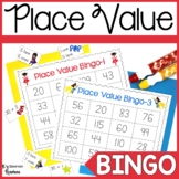 Superhero Place Value Bingo Game
