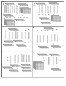 Place Value Block Task Cards 32 Cards (TEKS 2.2A)