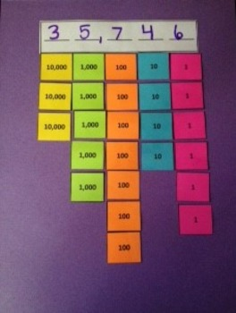 Place Value Board/Chips