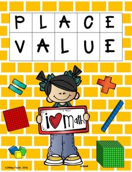 Place Value Bundle (100´s - 100,000´s)