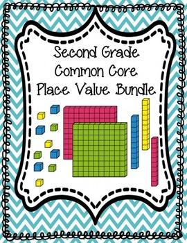 Place Value Bundle Fun! {SECOND GRADE 100% COMMON CORE}