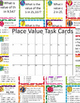 Place Value Bundle - Worksheets, Task Cards - 3rd grade TE
