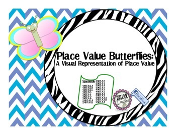 Place Value Butterflies: A Visual Representation of Place Value