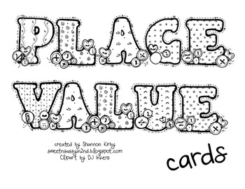 Place Value Cards 0-9,999