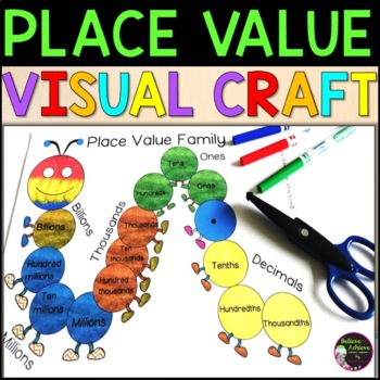 Place Value Caterpillars (for display and reference)